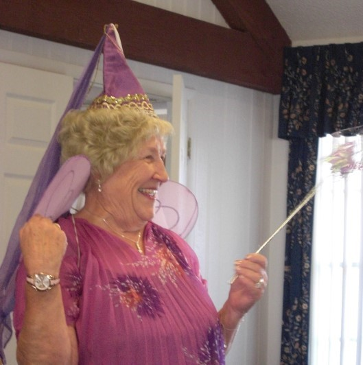 Mistress of Ceremonies Marion Patterson